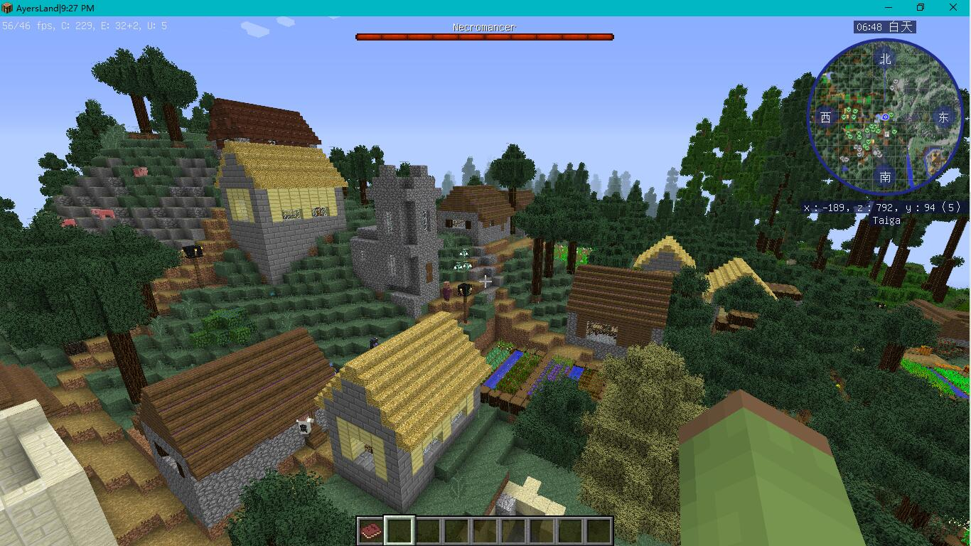 一个村庄(还有我不知道的效果)