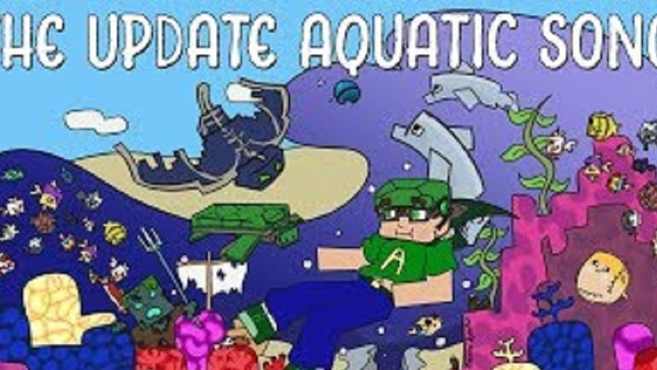 【Minecraft】1.13 新特性之歌 一首歌带你看完水域更新的完整内容