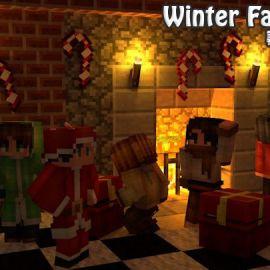 「Winter Fantasia 寒冬系列皮肤 更完了 - 内置BGM」
