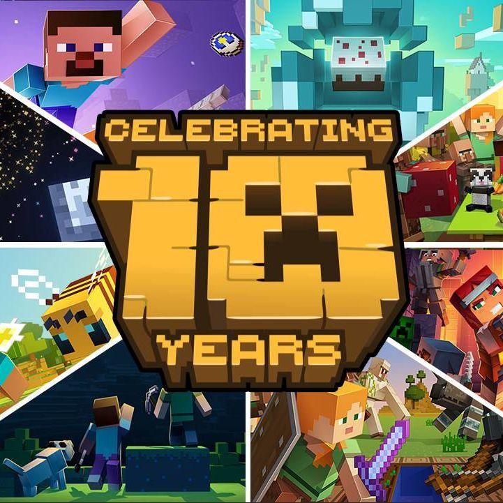 【年度盤點】Minecraft 2019 年度新聞回顧混剪!十周年快樂!