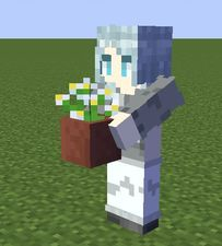 【新手原创】蓝头发的小姑娘